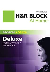 H&R Block At Home 2011 Deluxe + State