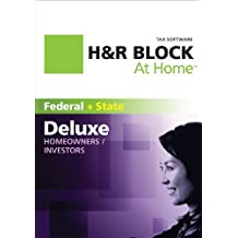 H&R Block At Home 2011 Deluxe + State (Old Version)