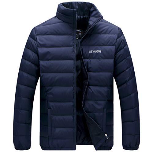 Down Slim Collar Jacket Down Aiweijia Jacket Men's Short 8SEwYFq