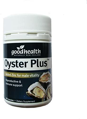 Oyster Plus Zinc and Taurine Marine Nutrient 60 Capsules Health and Vitality Dietary Supplement