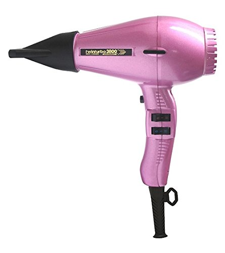 Turbo Power TwinTurbo 3800 Ionic & Ceramic Eco-Friendly Professional Hair Dryer Pink