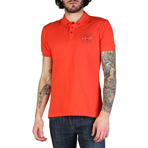 Versace Jeans Men Red Polo - Versace Clothing Spring Mens
