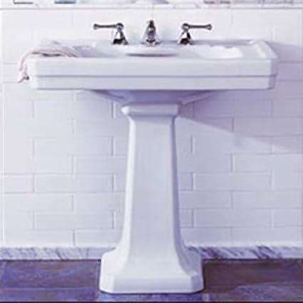 Charmant Porcher 04558 00.071 23 3/4+u0026quot; Pedestal Sink Top Only