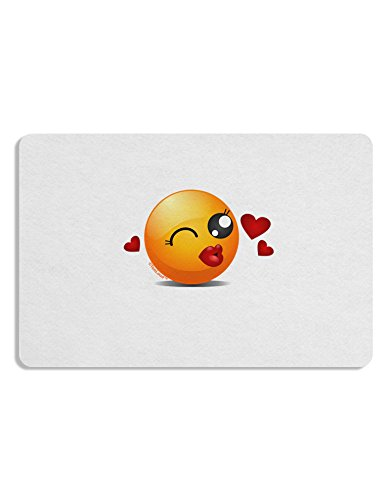 Kissy Face Emoji Girl Placemat