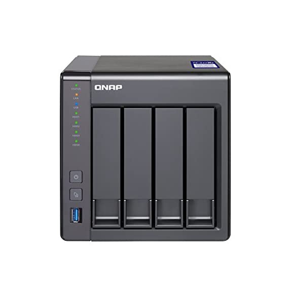 Qnap ts-431x2-8g-us arm-based nas, quad core 1. 7ghz, 8gb ram, 1 x 10gbe(sfp+) ,2 x 1gbe 1 arm cortex-a15 quad core 1. 7ghz, 2gb ddr3 ram (max 8gb), sata 6gb/s, 1 x 10gbe(sfp+) 2 x 1gbe, hardware encryption, container station, surveillance station