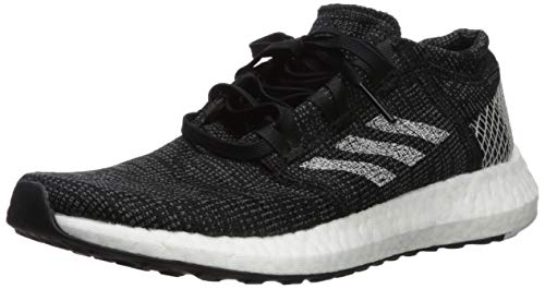 adidas Women's Pureboost Go Running Shoe, Black Grey, 10 M US