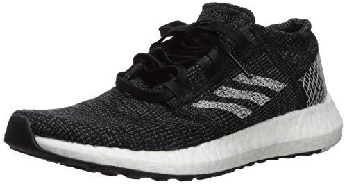 adidas Women's Pureboost Go Running Shoe, Black/Grey/Grey, 10 M US