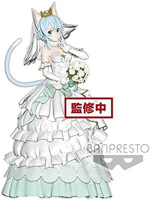 Figure Statue mariage ver. Banpresto EXQ Sword Art Online code registre sinon