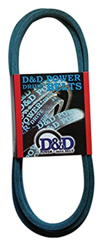 D&D PowerDrive 144959 Kevlar Replacement Belt AYP Sears Roper Husqvarna, 1/2 x 95, 4LK Section, Rubber