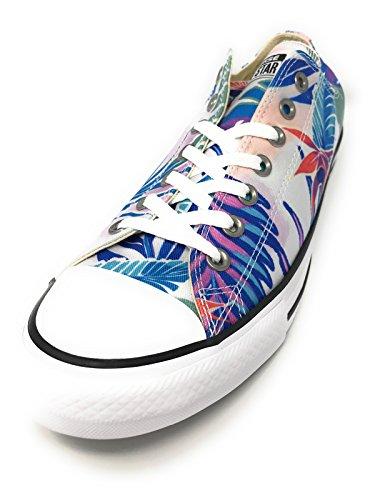 Designer Fresh STAR Cyan Chucks Glow ALL Magenta White Schuhe CONVERSE PXIBdqq
