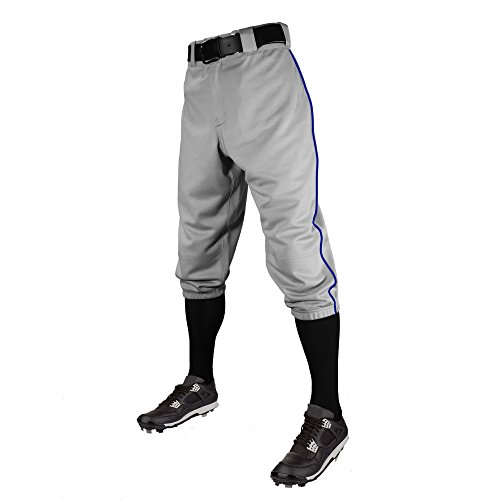 C6 Pro Series Youth Baseball Knickers with Piping - Softball Jersey Piping