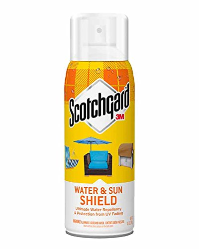 Scotchgard Water and Sun Shield with UV Protector, 1 Can 10.5 (Color Protect Leave)