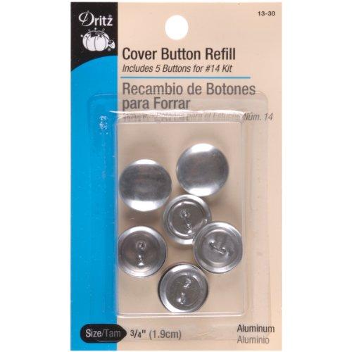 Cover Button Refill (Dritz Cover Button Refill Size 30 5 pc)