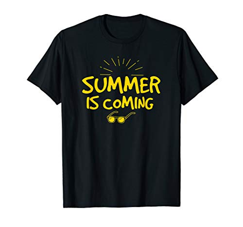 Summer is Coming Funny Graphics Shirt