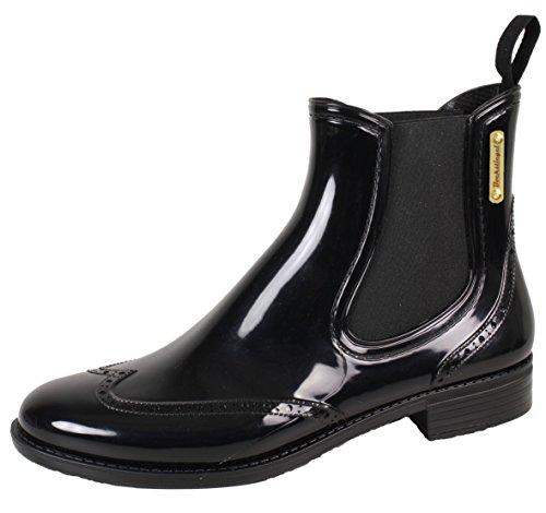 Black Bockstiegel® Design Moda Mezzo Chelsea Donna Stivali Esclusivo Di Boots Impermeabile Gomma Alla q1B7w
