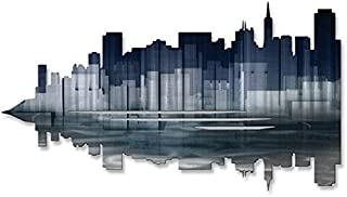 San Francisco Reflection Art Mural en Métal – 30 W x 17H en. All My Walls URB00052