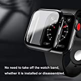 baozai Compatible with Apple Watch 42mm Case with