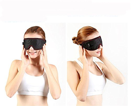 Electric heating goggles, sleep shade, relieve eye fatigue, get rid of dark circles and bags under the eyes, Unisex by GJX