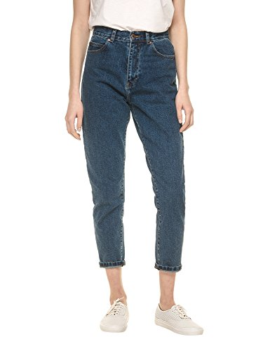 dr-denim-jeansmakers-womens-nora-womens-blue-high-waisted-jeans-in-size-w27-l30-blue