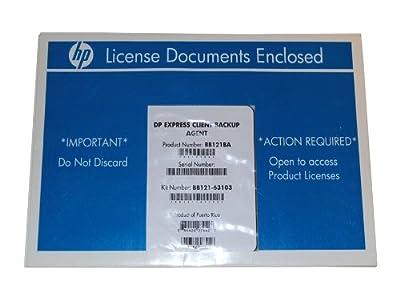 Hp Data Protector Express Software Network Server Agent LTU Bb121ba Bb121-63103