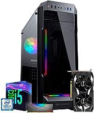 PC Gamer ITX Arena Setup Powered By Asus, I5 9400F, GTX 1650 4GB, 8GB 3000MHZ, SSD 240GB, Gabinete Cougar RGB