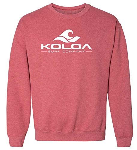 Koloa Wave Logo Sweatshirts in 36 Colors in Sizes S-4XL