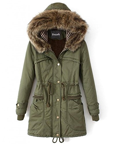 Roseate Womens Quilted Casual Parkas
