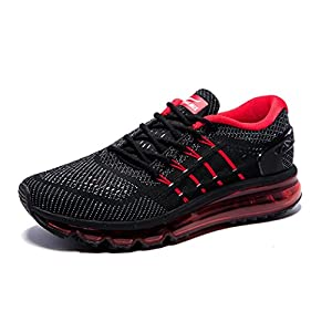 ONEMIX Men's Air Running Shoes, Light Gym Outdoor Walking Sneakers