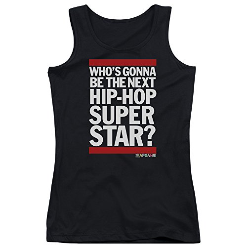 The Rap Game Next Hip Hop Superstar Women's Sheer Fitted Tank Top by Trevco