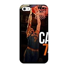 Premium UKlElRw3434ULwyr Case With Scratch-resistant/ Carmelo Anthony Case Cover For Iphone 5/5s