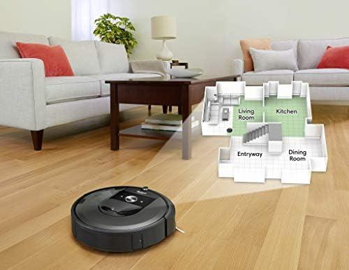 iRobot Roomba i7+ Robot Aspirador Roomba i7+ con con Estación de Limpieza Automática, Color, Pack of/Paquete de 1 15