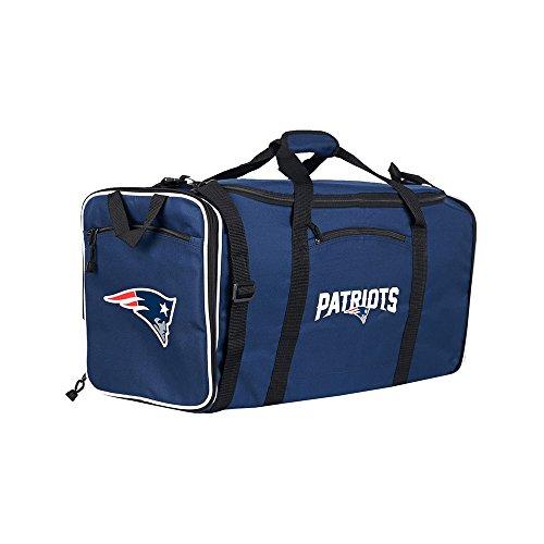 Amirshay, Inc.. New England Patriots NFL Steal Duffel Bag (Navy) (2-Pack) by Amirshay, Inc.