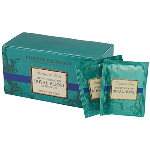 FORTNUM & MASON, London - ROYAL BLEND DECAFFEINATED - 75 tea bags (3 boxes of 25 bags) ()