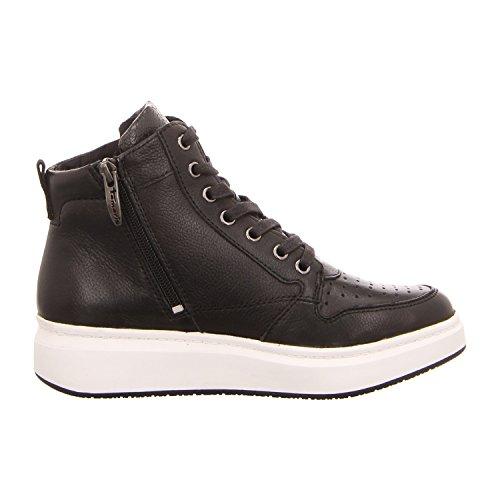 Tamaris1-1-25219-27/001 - Botas de cordones Mujer Negro