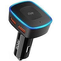 Roav Viva, por Anker, Alexa-Enabled 2-Port USB Car Charger for In-Car Navigation, Handsfree Calling and Music Streaming. Compatible con Dispositivos Inteligentes Android e iOS (reacondicionado)