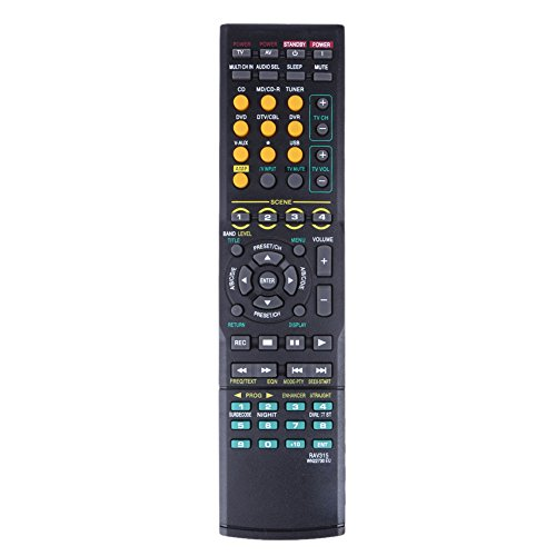InTeching RAV135 AV Receiver Remote Control for Yamaha HTR-6025, HTR-6030, HTR-6050, HTR-6130, HTR-6140, HTR-6150, HTR-6160, HTR-6230, RXV561
