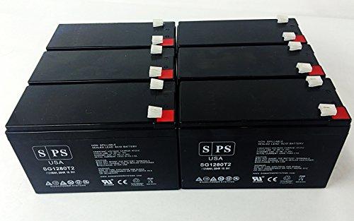 (Replacement Battery for Belkin Regulator Pro Gold Series-USB F6C650-USB 12V 8Ah UPS Battery (6 pack))