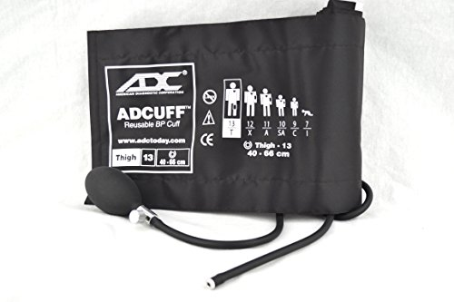 Adcuff Inflation System - ADC 865-13TBR ADCUFF Inflation System, Thigh, Brown