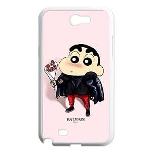 Crayon Shin Chan Samsung Galaxy N2 7100 Cell Phone Case White Gift pjz003_3361300