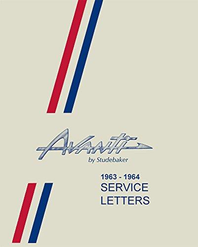 Bulletin Letter (bishko automotive literature 1963 1964 Studebaker Avanti Service Letters Bulletins Manual Shop Repair OEM)
