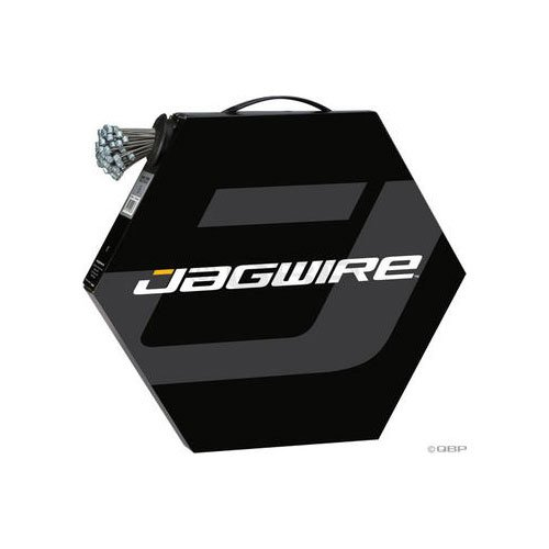 JAG Mountain, Brake Cable, Box of 100, Slick, Stainless, 1.5 x 1700mm by Jagwire