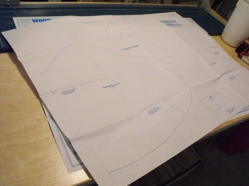 A Full Size Woodworking Pattern and Instructions to build 48 inch tall Camels