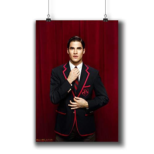 Glee TV Series Poster Small Prints 079-102 Blaine Anderson Darren Criss,Wall Art Decor for Dorm Bedroom Living Room ()