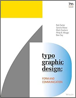 Book Typographic Design: Form and Communication