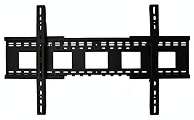 "Wall Mount World - Universal Expandable Fixed Position Flat Wall Mount for LG 75UH8500 75"" Super UHD 4K HDR LED TVs"