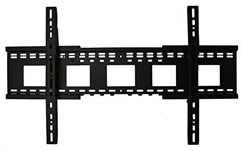 Wall Mount World - Universal Flat Wall Mount Expands Fitting 32in- 90in displays fits Samsung QN82Q6FNAFXZA QN82Q6FNA QN82Q6FN QN82Q6F 82Q6F 82 Q6F Seies TVs