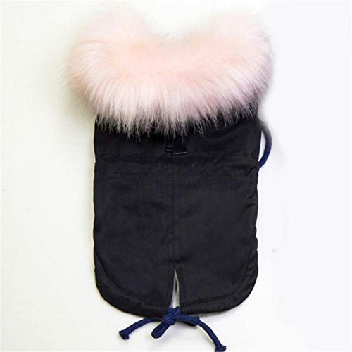 Hakazhi Inc Winter Dog Clothes Luxury Faux Fur