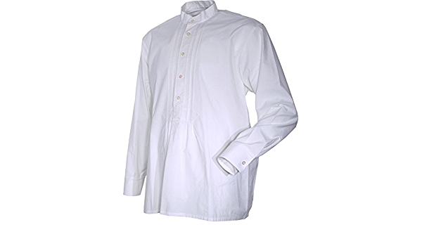 Job - Camisa Casual - Básico - Cuello Mao - Manga Larga ...