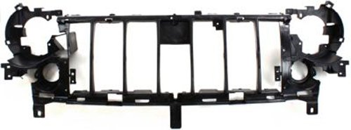 Crash Parts Plus Front Header Grille Reinforcement Mounting Panel for 2005-2007 Jeep Liberty (Header Grille Panel)