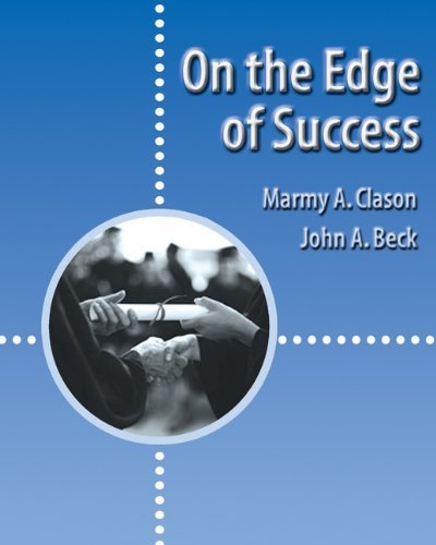 By Marmy A. Clason - On the Edge of Success: 1st (first) Edition PDF